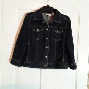 Chico's Jean Jacket, Size 1